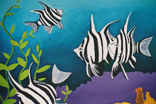 Win this limited edition print by mandy evans artist for Old wife fish